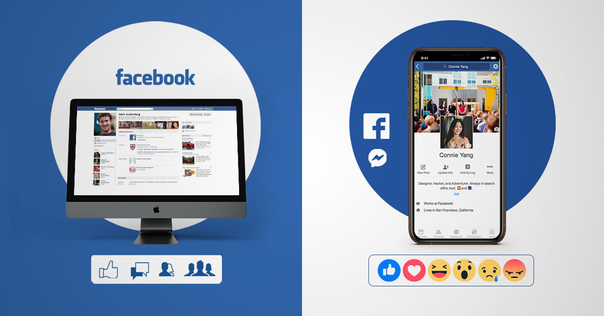 La historia de Facebook. ¿Recuerdas cómo era cuando lo abriste?
