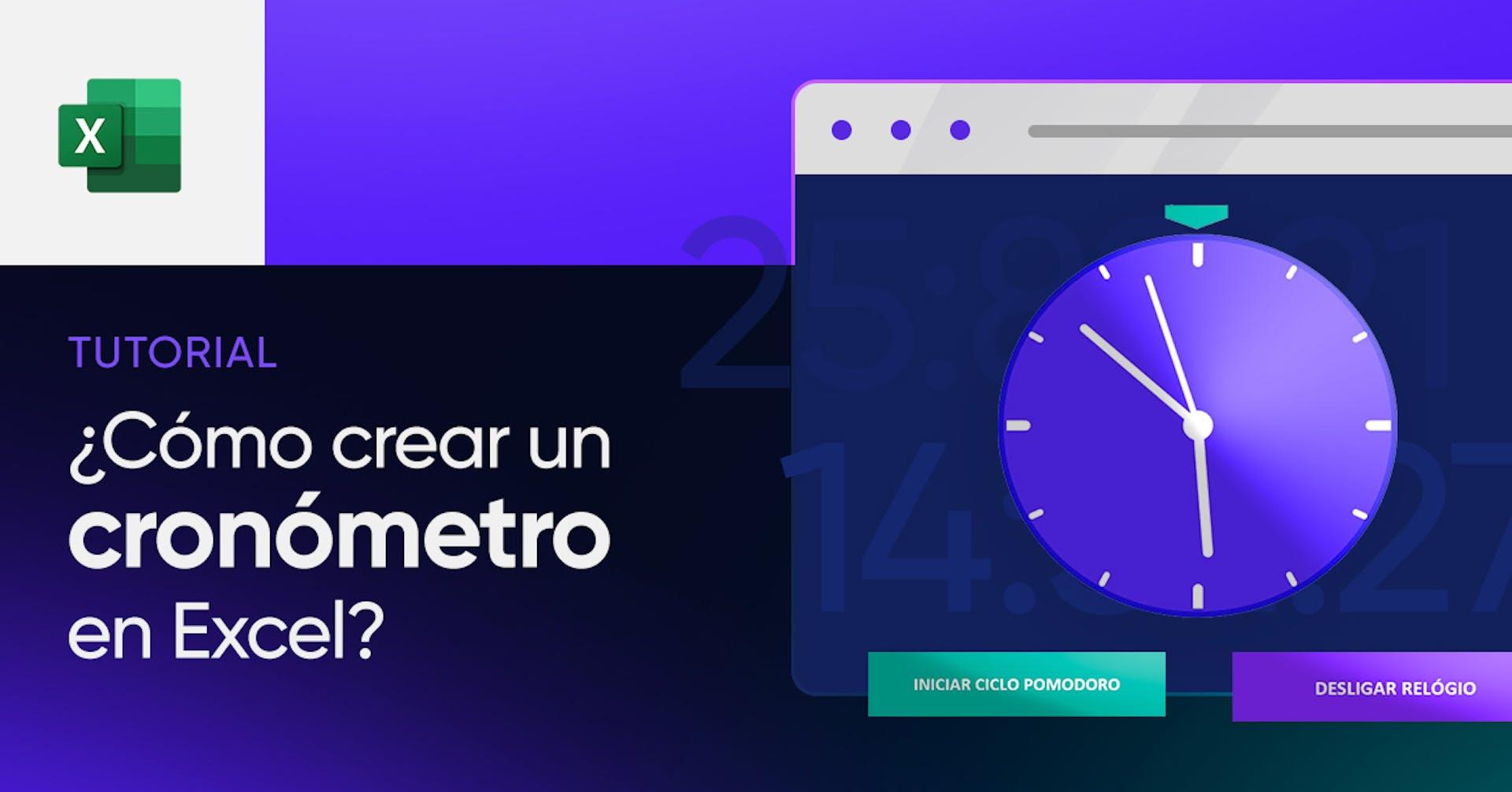 ¿Cómo crear un cronómetro en Excel? Descubre la forma más sencilla de controlar el tiempo
