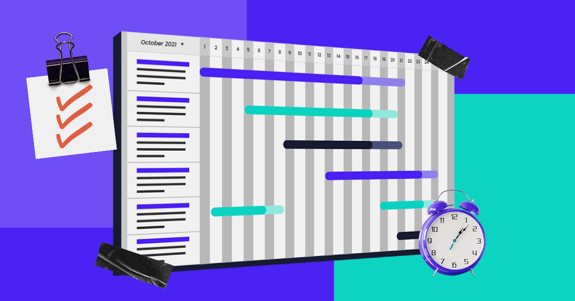 Aprende cómo hacer un diagrama de Gantt y sigue de cerca el avance de tu proyecto