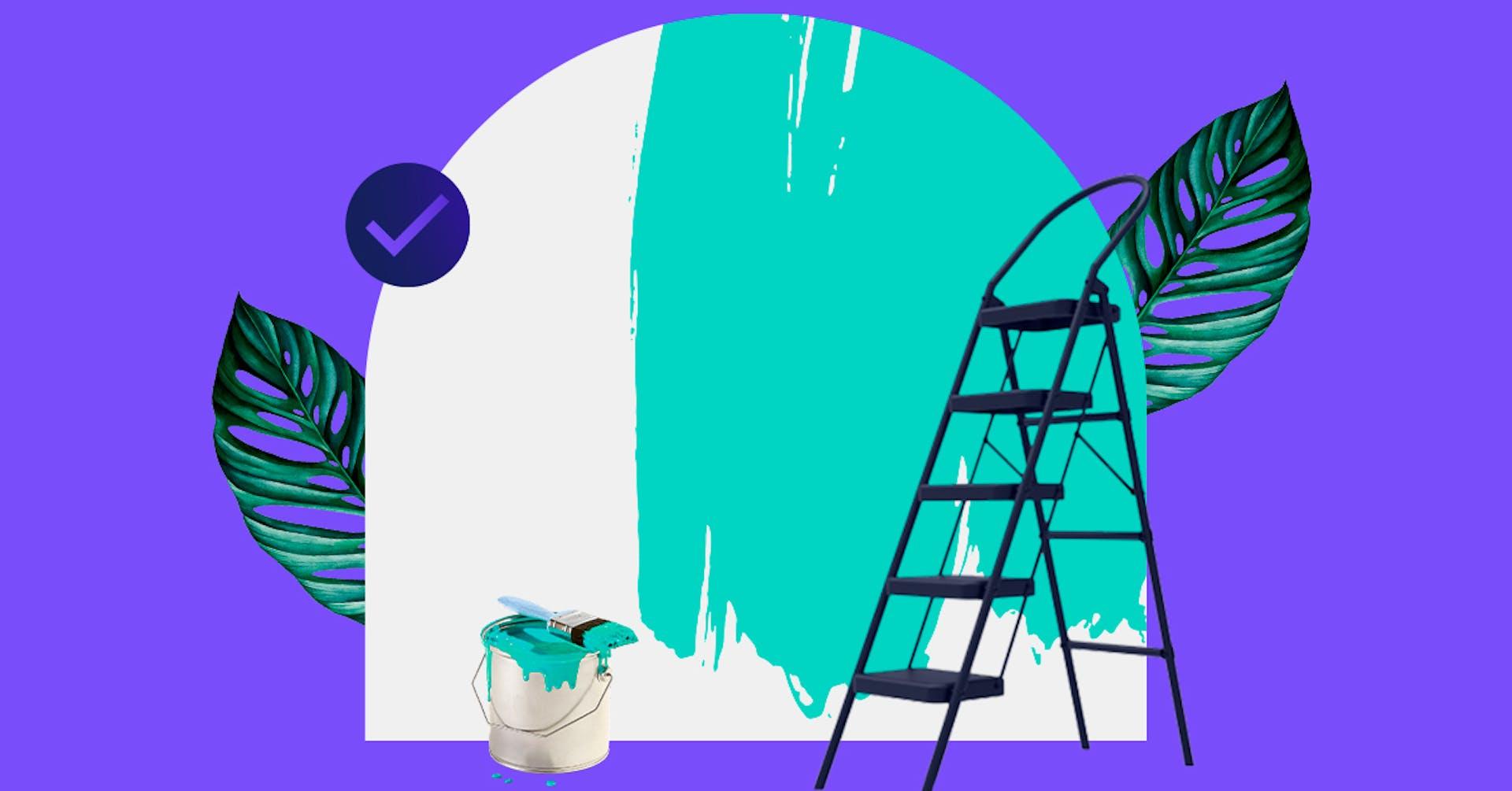 Renueva tu hogar con estas técnicas para pintar paredes con efectos