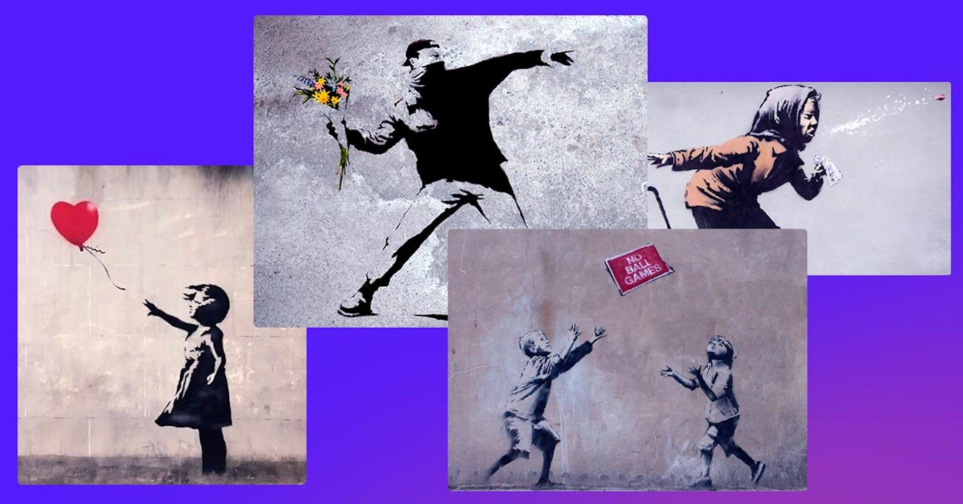 """¿Quién es Banksy? """"Banksy face"""" un personaje desconocido con mucha influencia artística"""