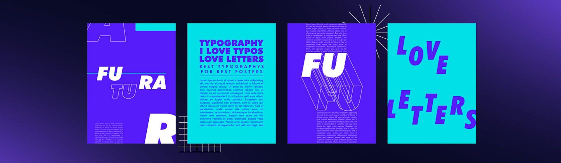 Letras para carteles: +35 tipografías que tu cliente amará