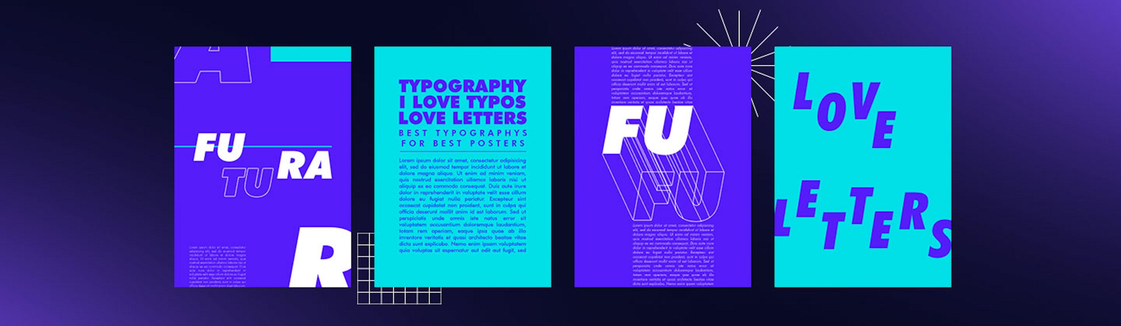 Las 30 mejores letras para carteles publicitarios que tu cliente amará