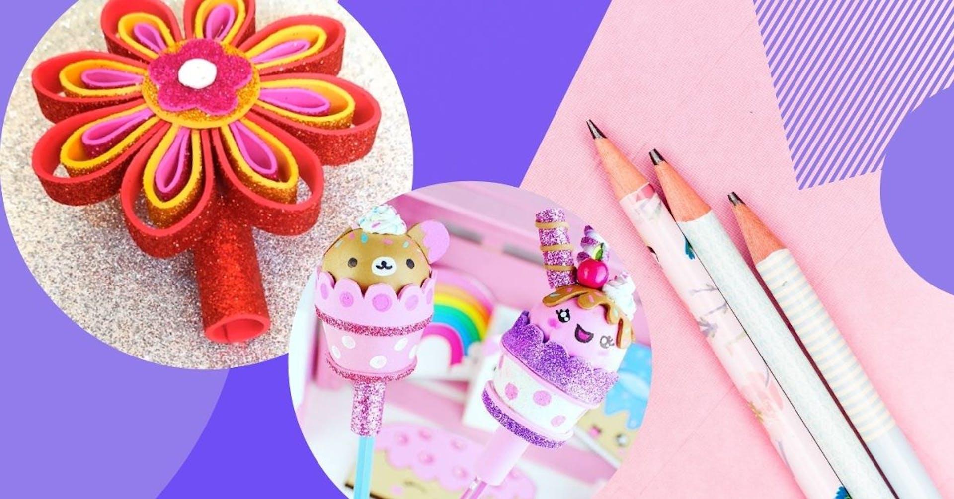 ¿Cómo decorar lápices para vender?: 6 creativas ideas para emprender con éxito este 2021