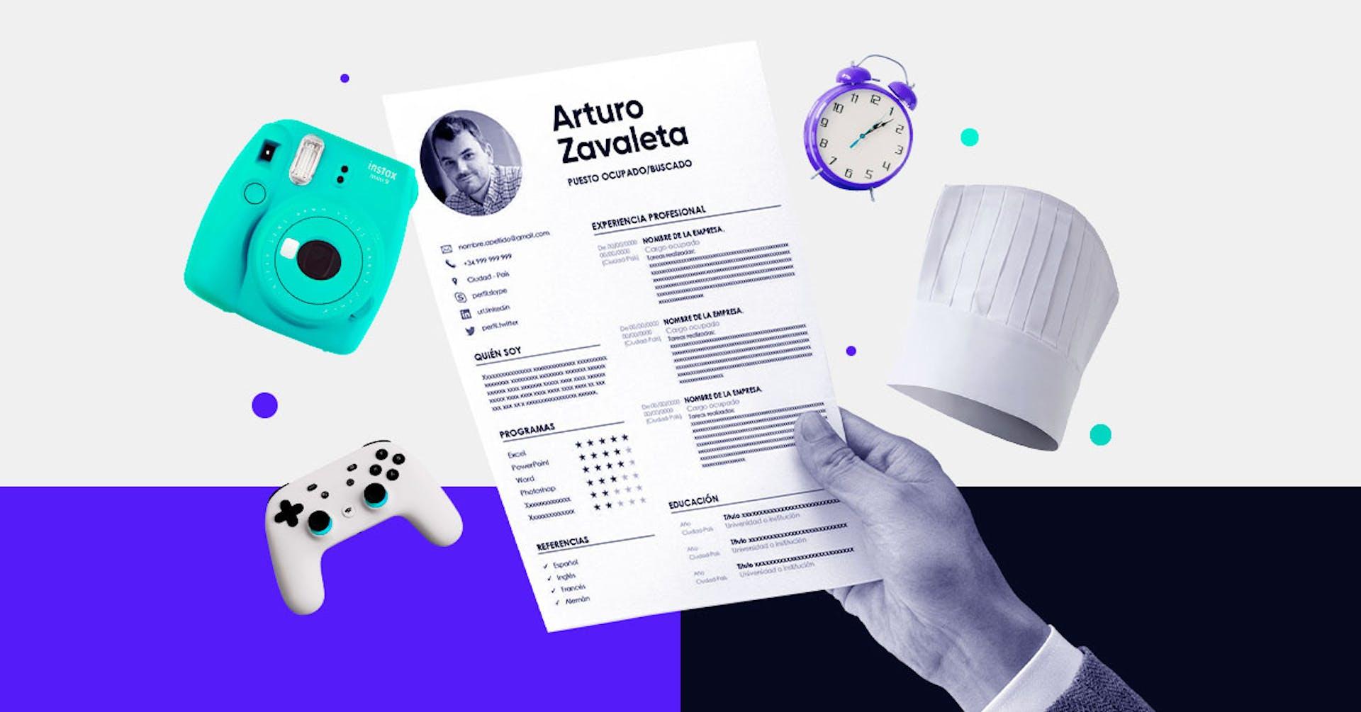 +20 ejemplos de intereses adicionales para CV que impulsarán tu perfil