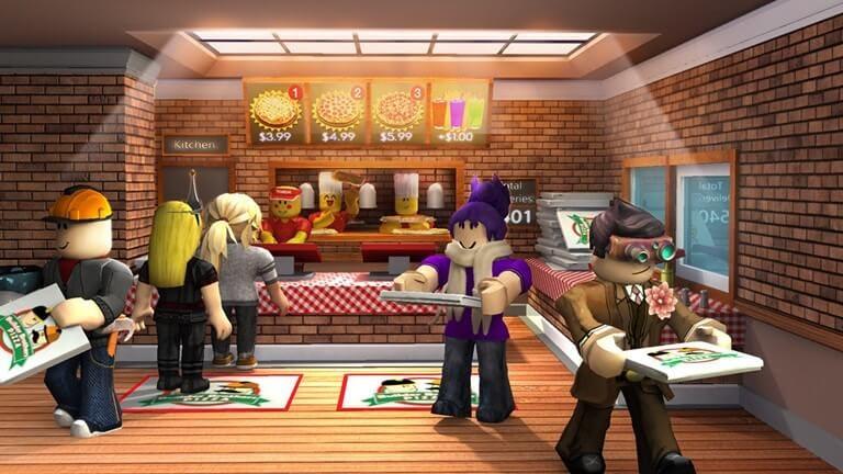 roblox world pizza game