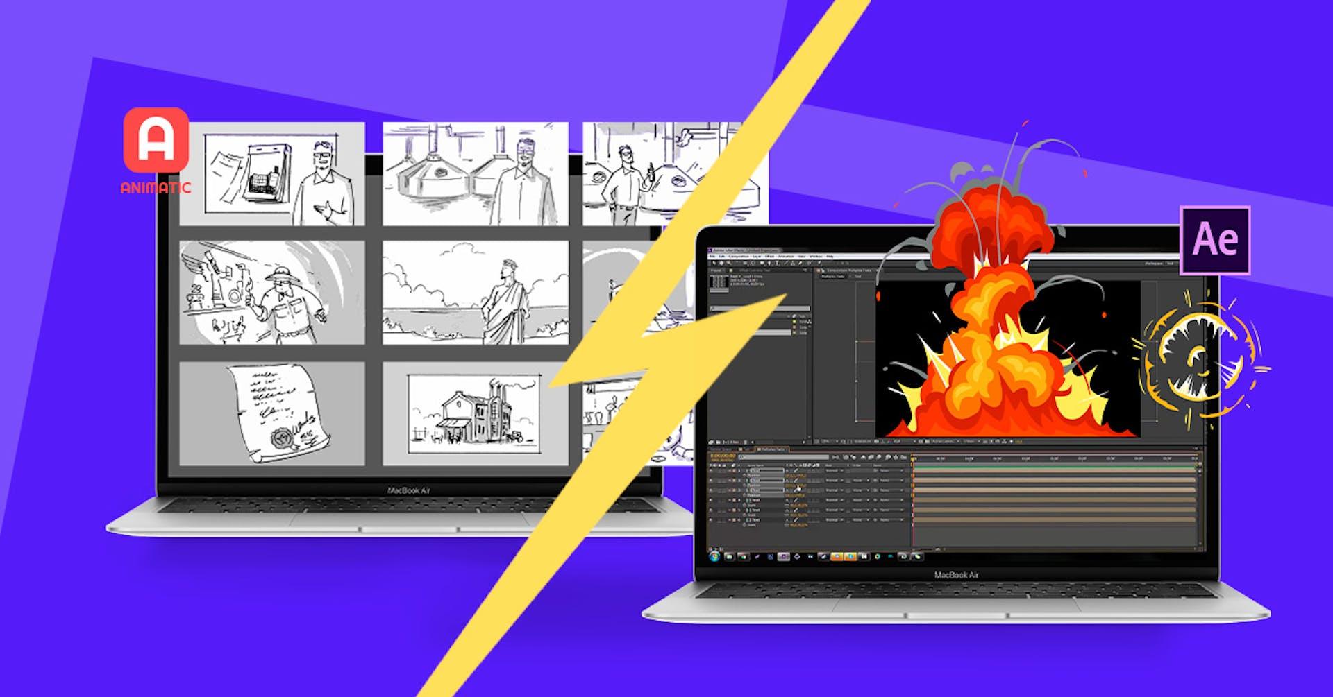 After Effects: Animatic e outras alternativas de programas de animação