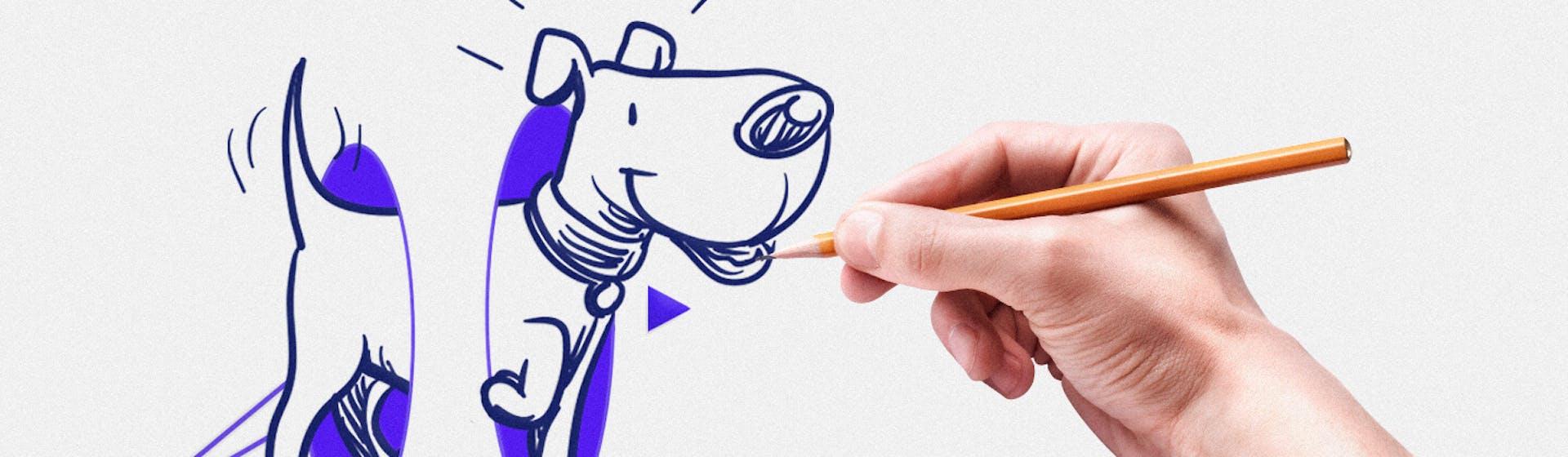 ¿Cómo dibujar un perro paso a paso? (y no perder el respeto de tu chihuahua)