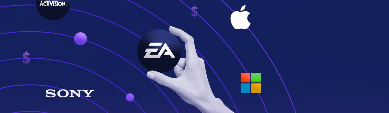 Las 7 empresas de videojuegos que tomarán el control del mercado en 2021