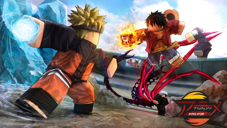 game roblox anime fighting
