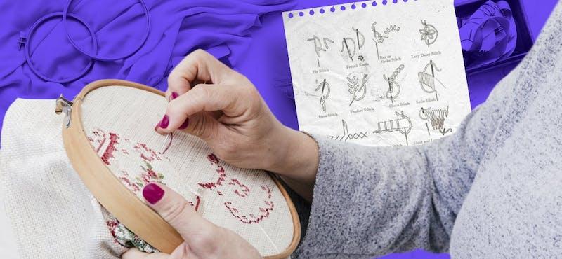 ¿Cómo aprender a bordar? La guía que te permitirá crear verdaderas obras de arte