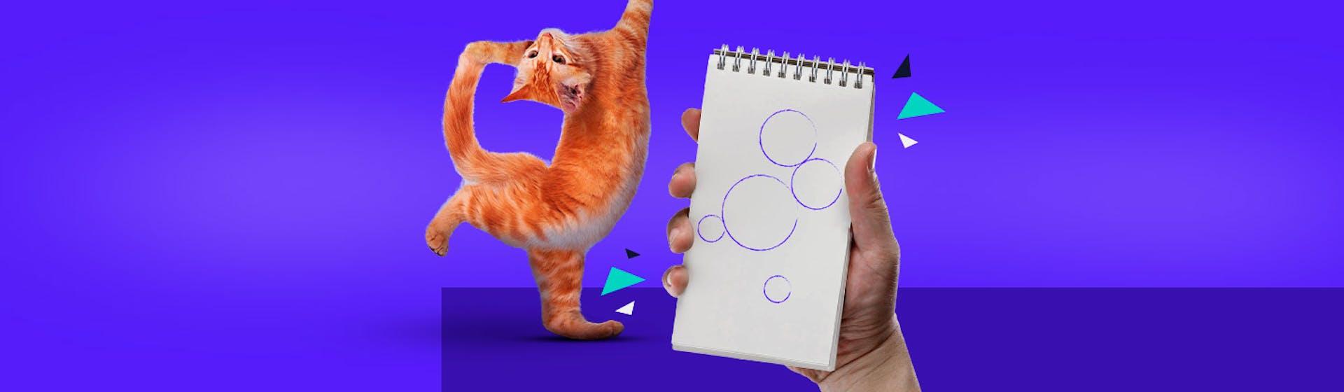 ¿Cómo dibujar un gato realista? Es así de fácil con estos tips que te convertirán en artista