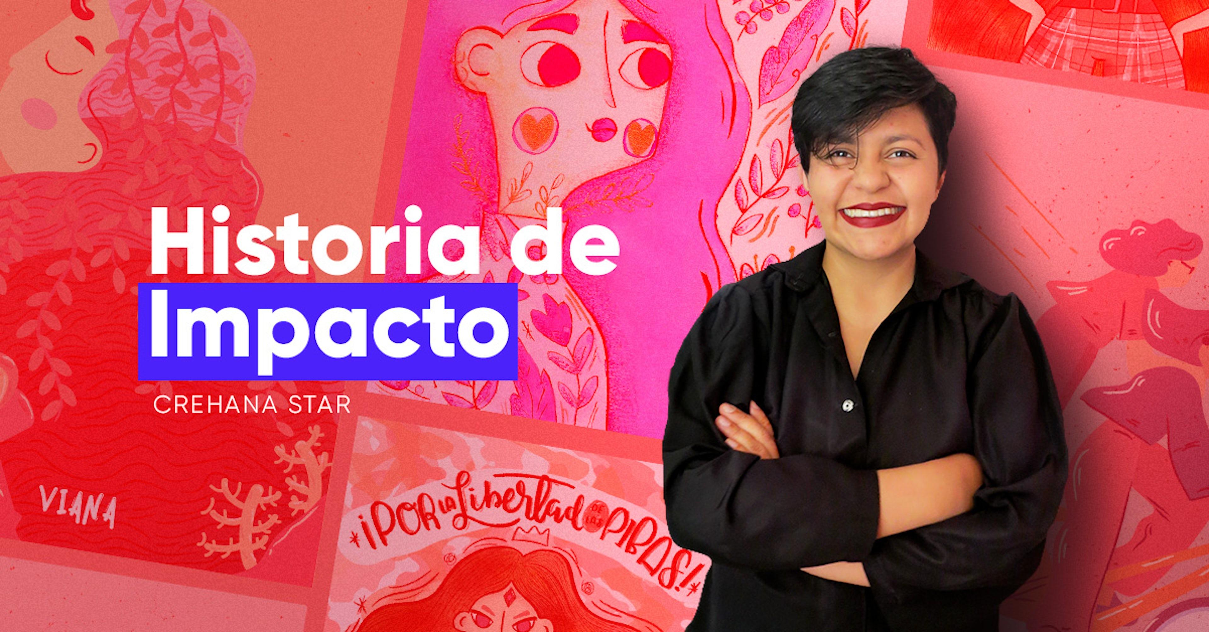 Descubre la historia de Viviana, la ilustradora que borró sus miedos y pintó sus sueños