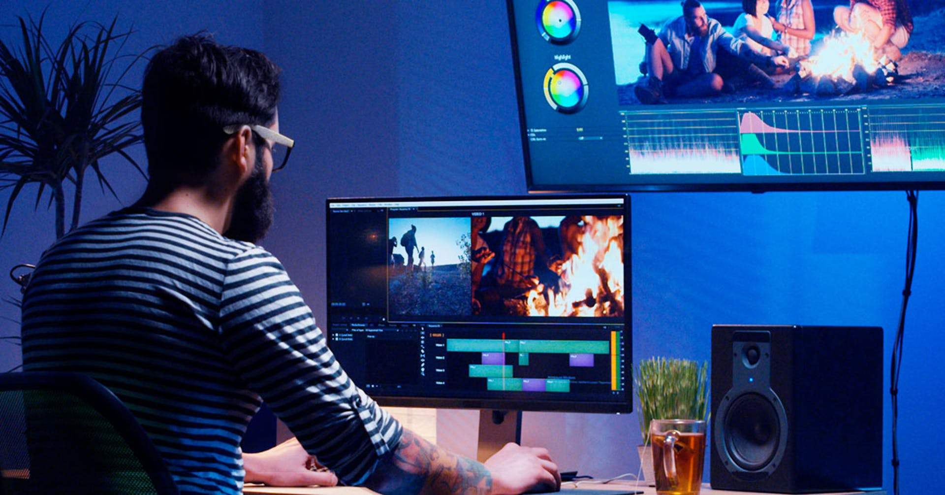 Conoce a detalle las herramientas de los software edición de video