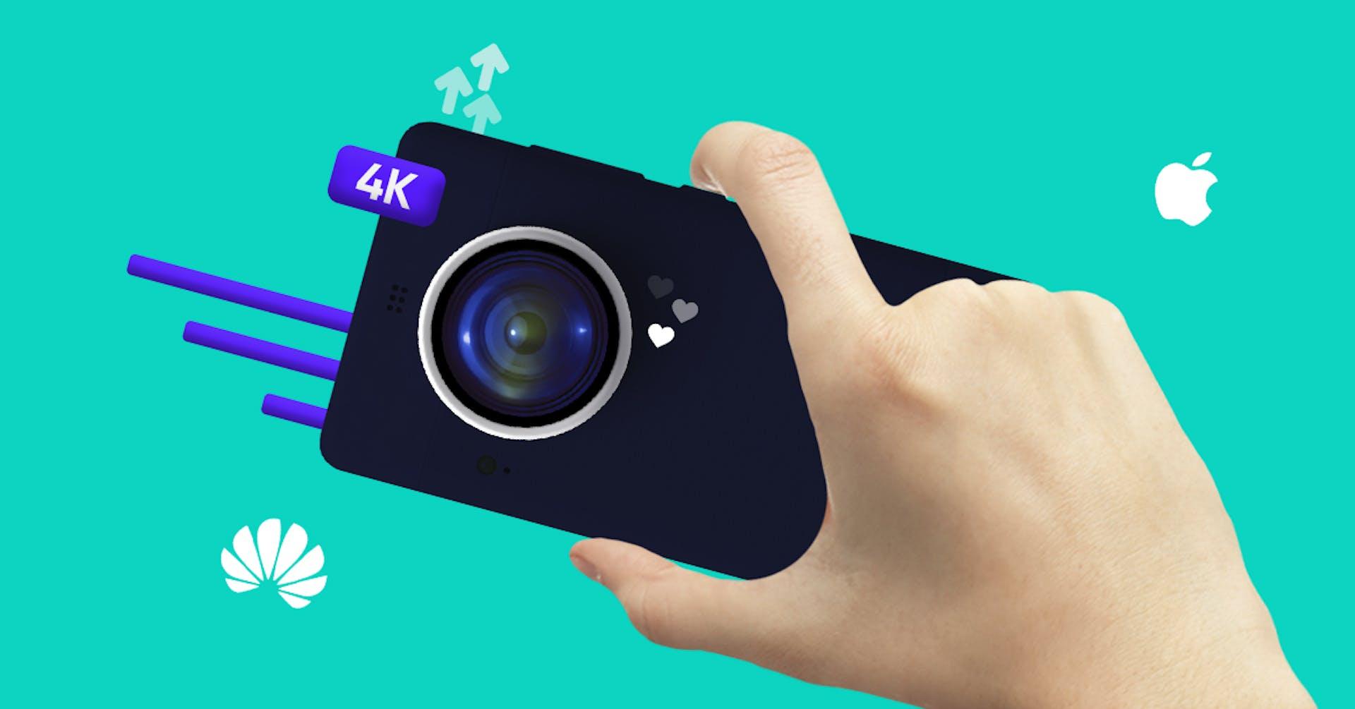 Las mejores cámaras de celulares con OIS para hacer fotografías del 2021