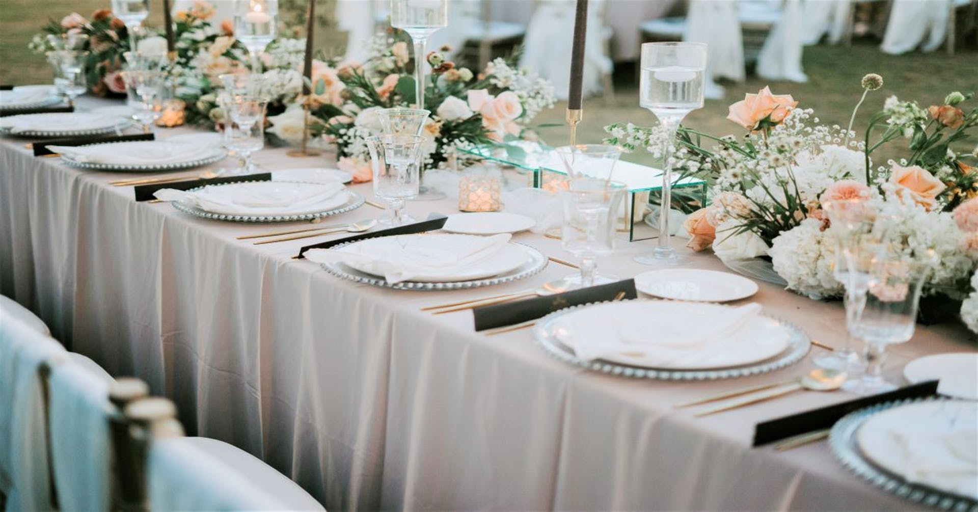+5 estilos de decoración de mesas de boda que ninguno de tus invitados olvidará