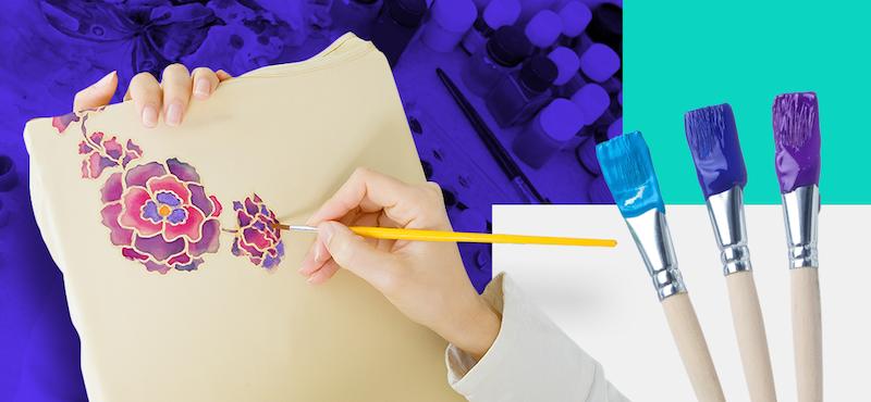 ¿Cómo pintar en tela? Guía práctica para principiantes