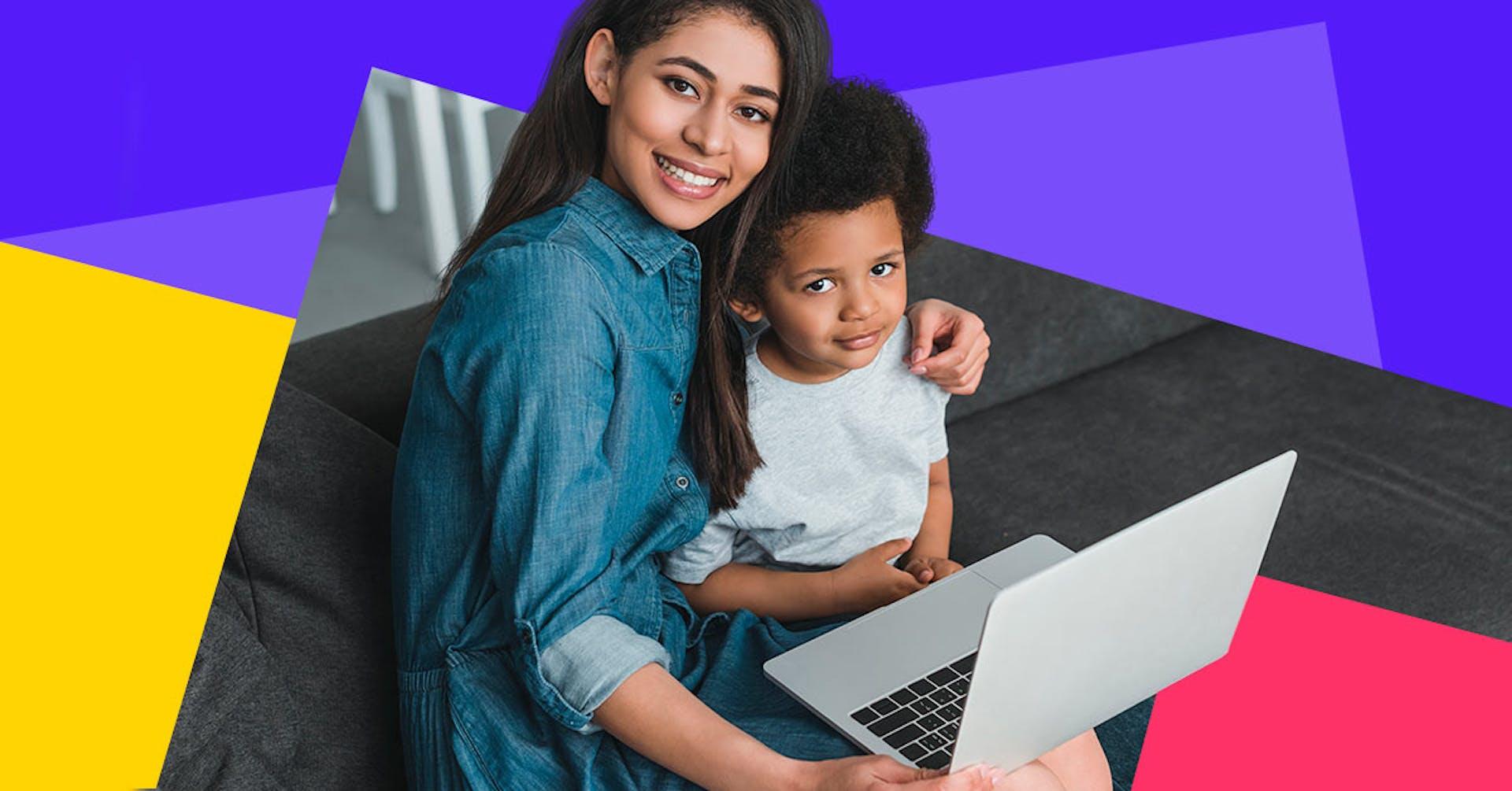 Trabajo remoto y niños: ¿Es posible?