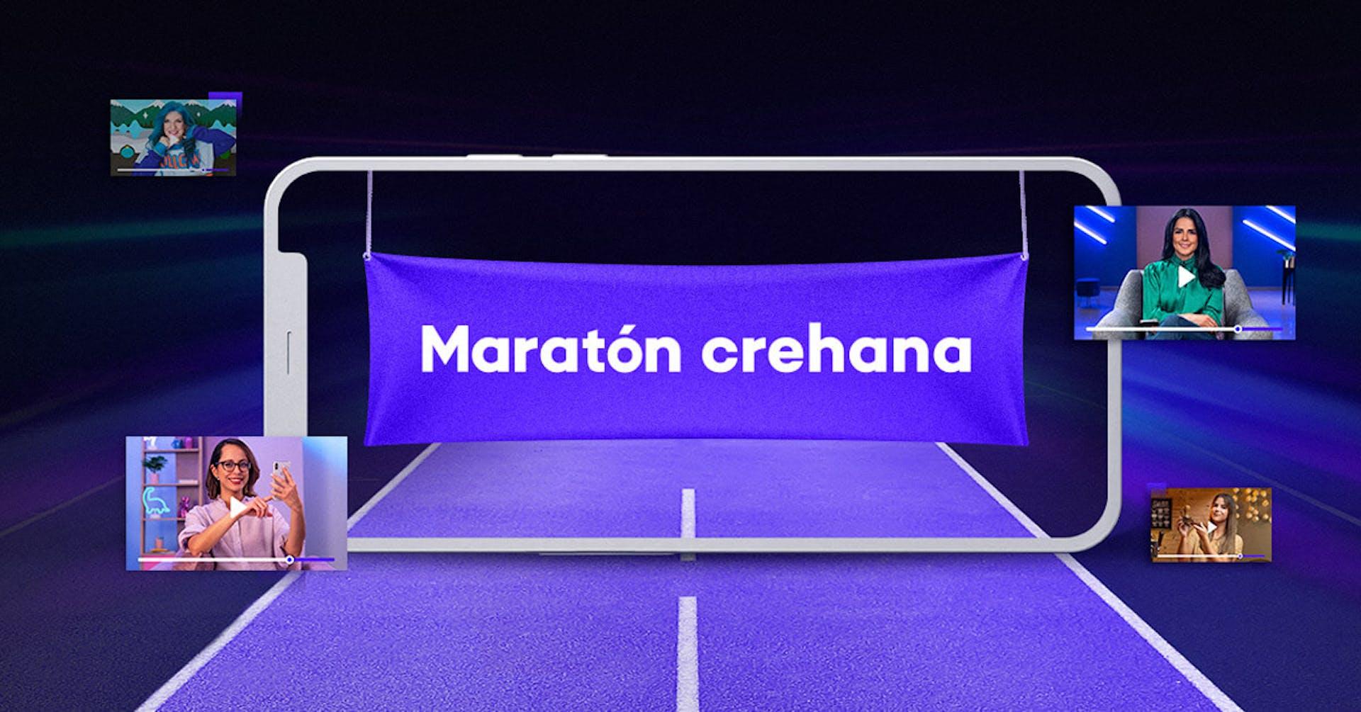 ¡Lee esta guía de la Maratón Crehana para aprovechar las 48h de acceso libre al máximo!