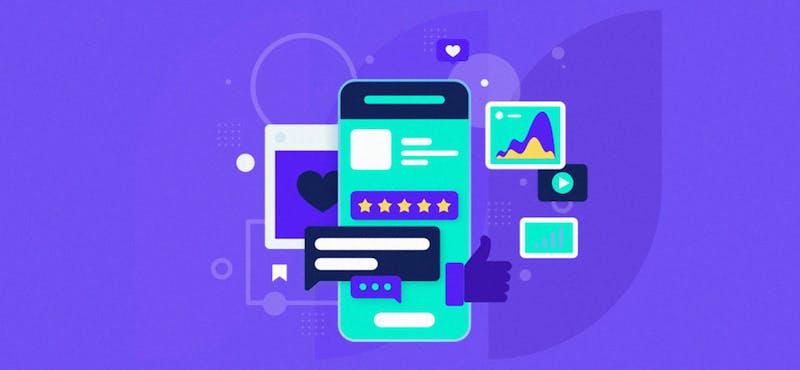 Descarga un diseño de social media post template y empieza a crear contenido profesional