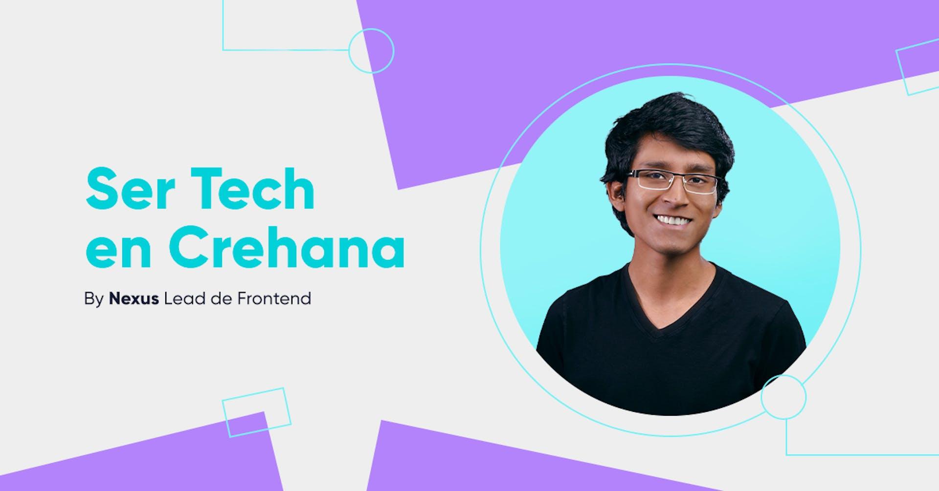 Ser Tech en Crehana: ¡Falla!, pero aprende rápido