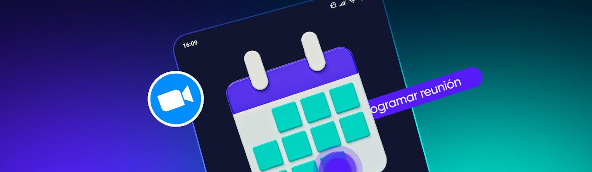 Aprende cómo programar una reunión en Zoom desde el celular en tres pasos