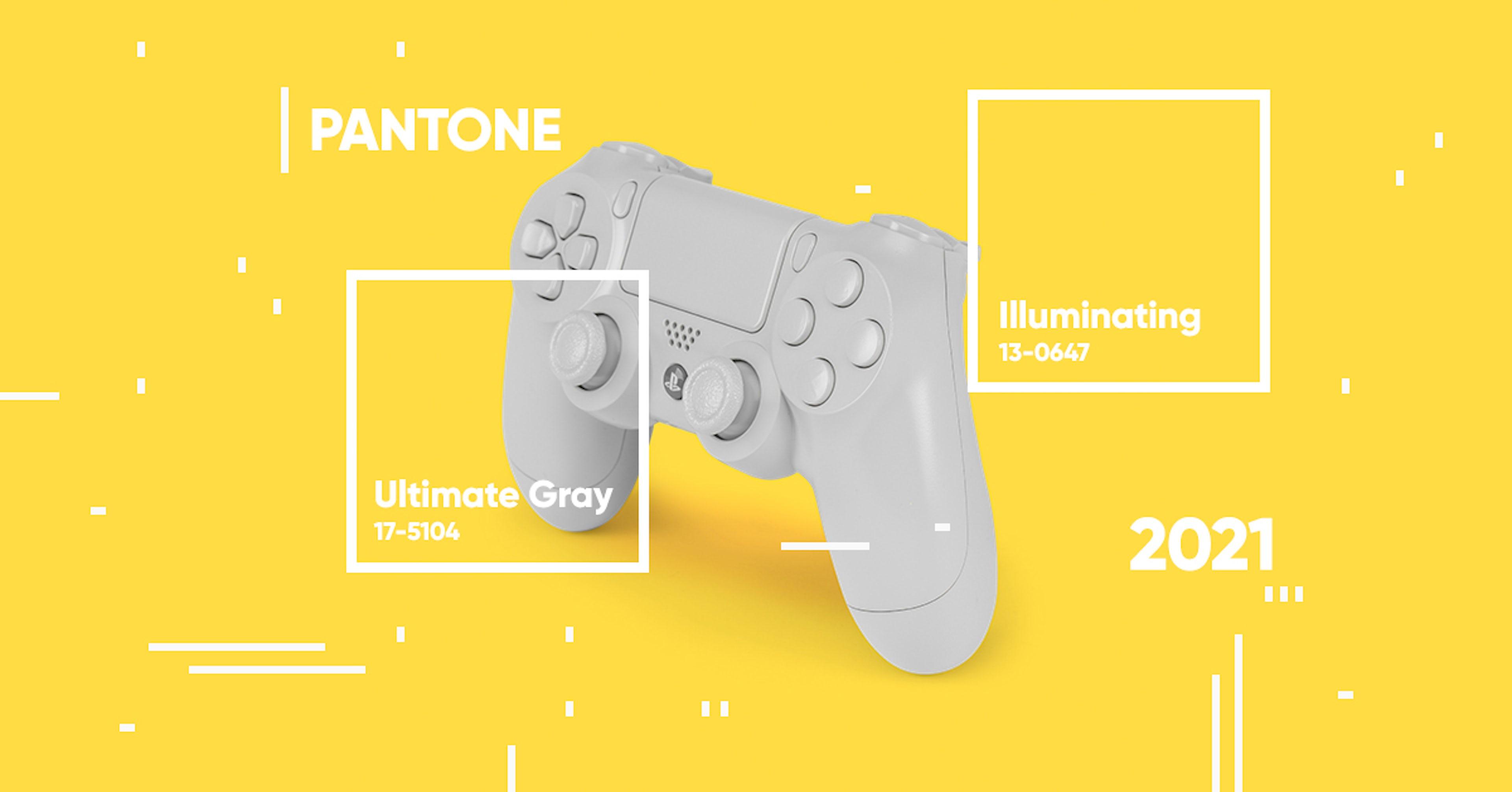 Revelación Pantone color 2021: ultimate gray + illuminating