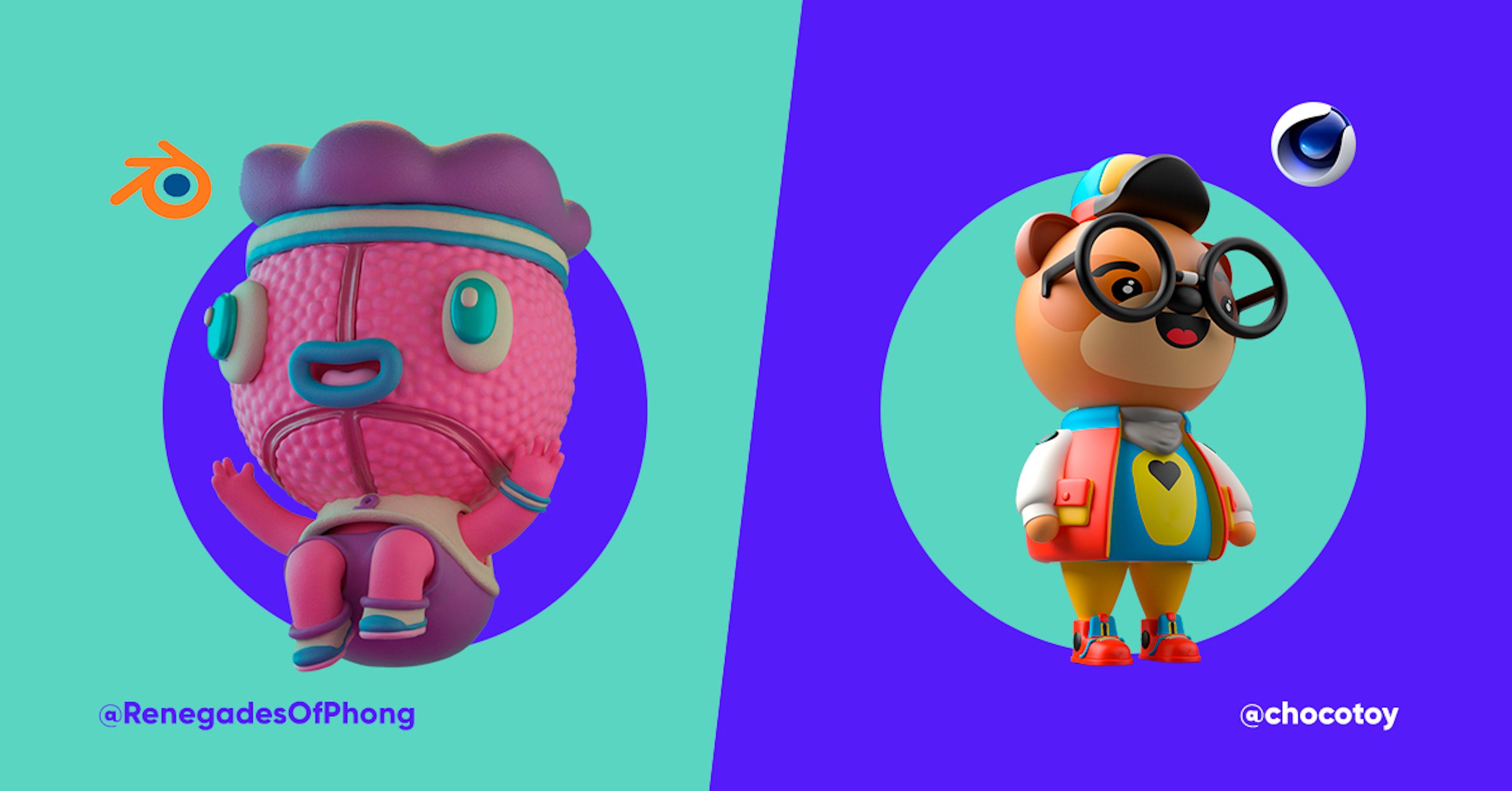 Comparação de programas: Cinema 4D Vs Blender