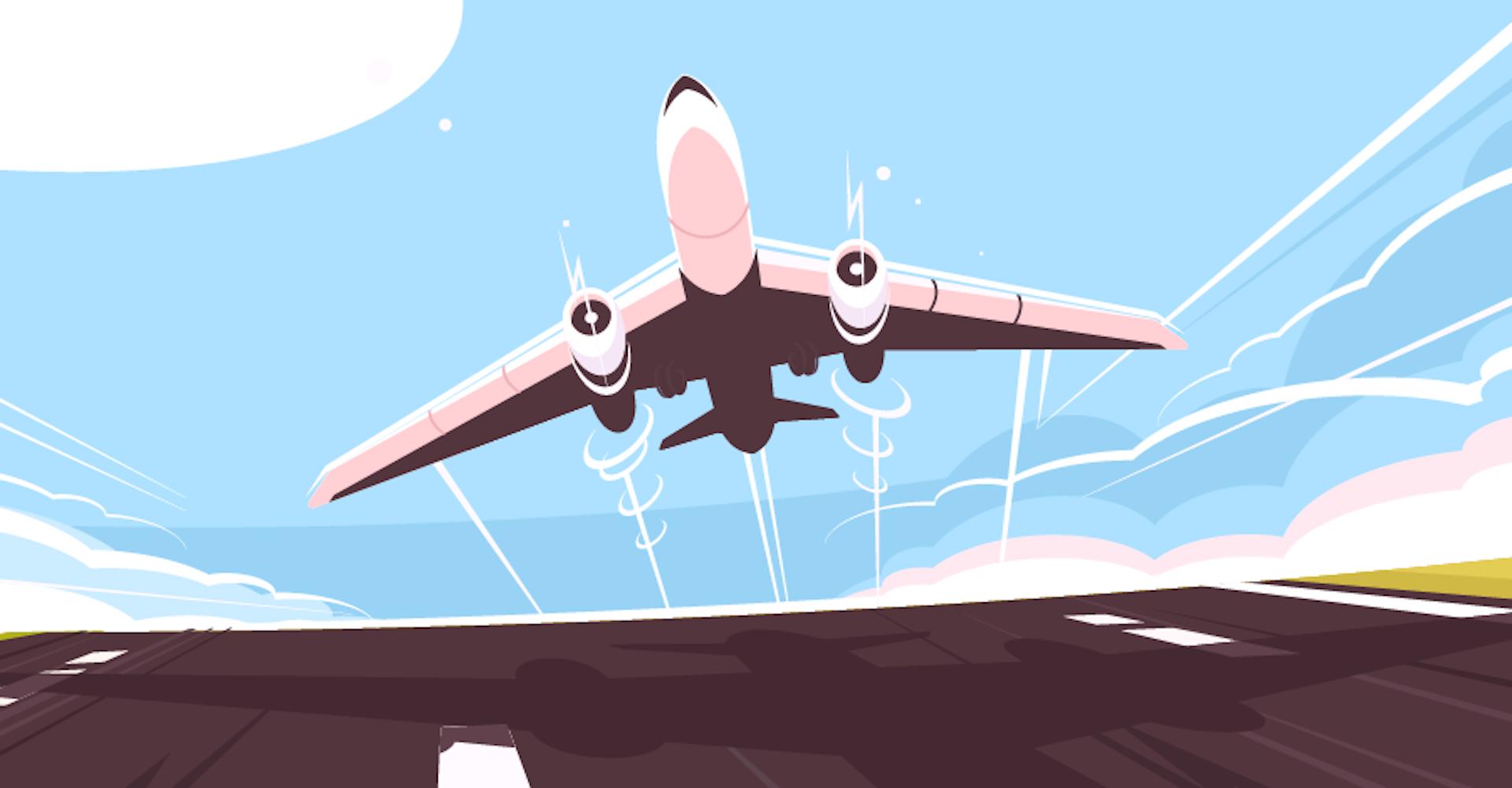 Una diferente manera para dar indicaciones en el avión