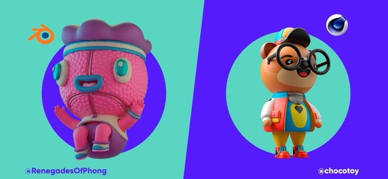 Cinema 4D vs Blender: ¡un duelo que sacará chispas!