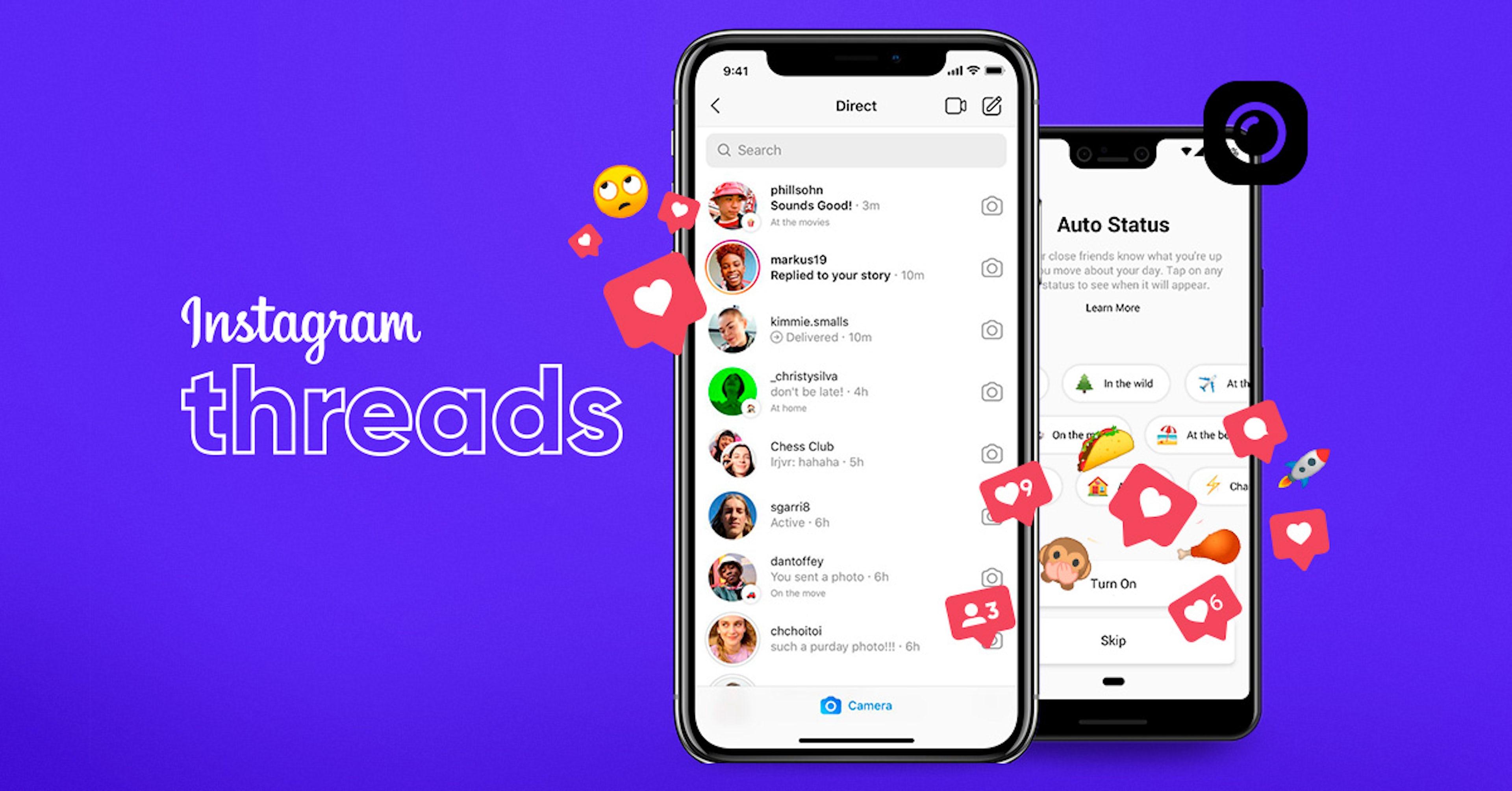 Instagram estrena Threads, una manera de estar más cerca de tus amigos
