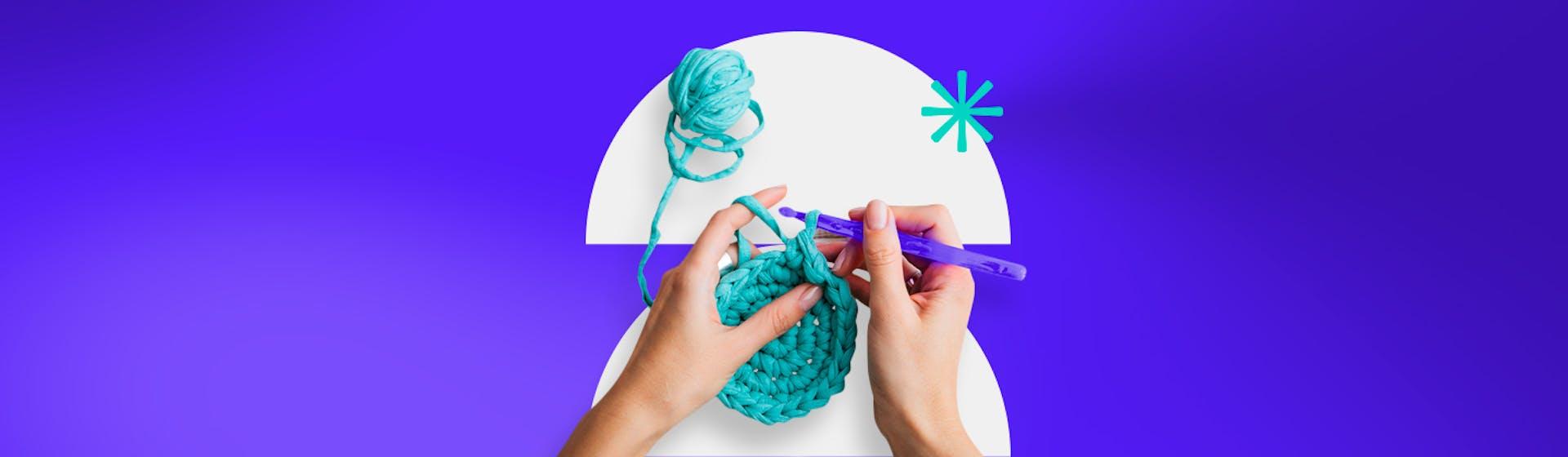 Puntos de crochet para principiantes: usa el talento en tus manos y empieza tu proyecto de tejido hoy