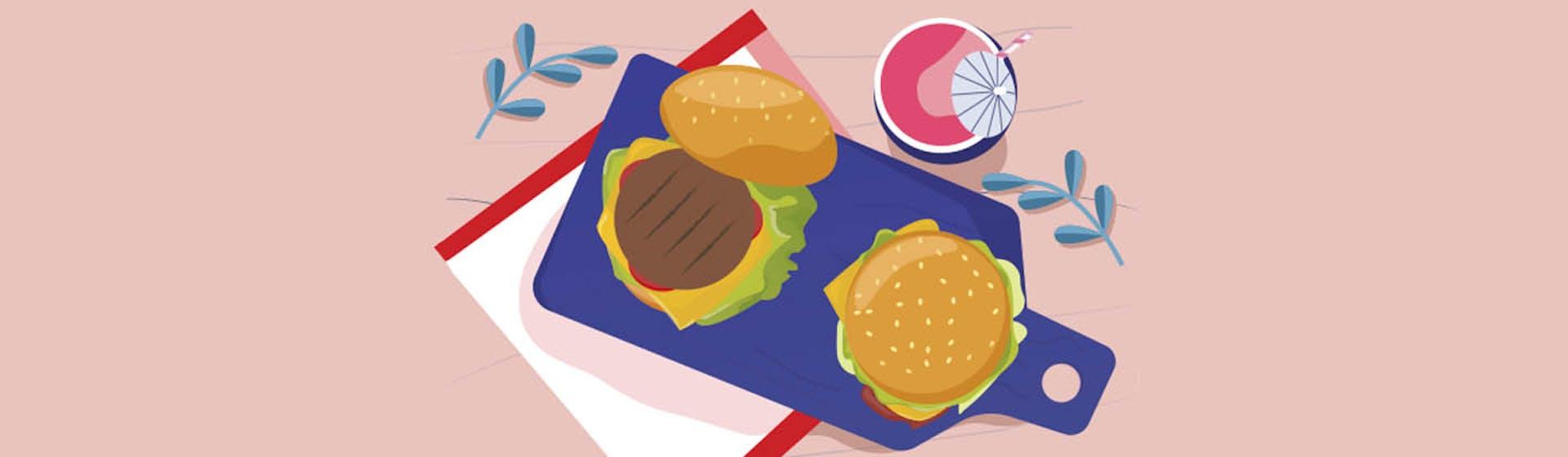 Pan brioche y hamburguesas una combinación imbatible para que hagas en casa