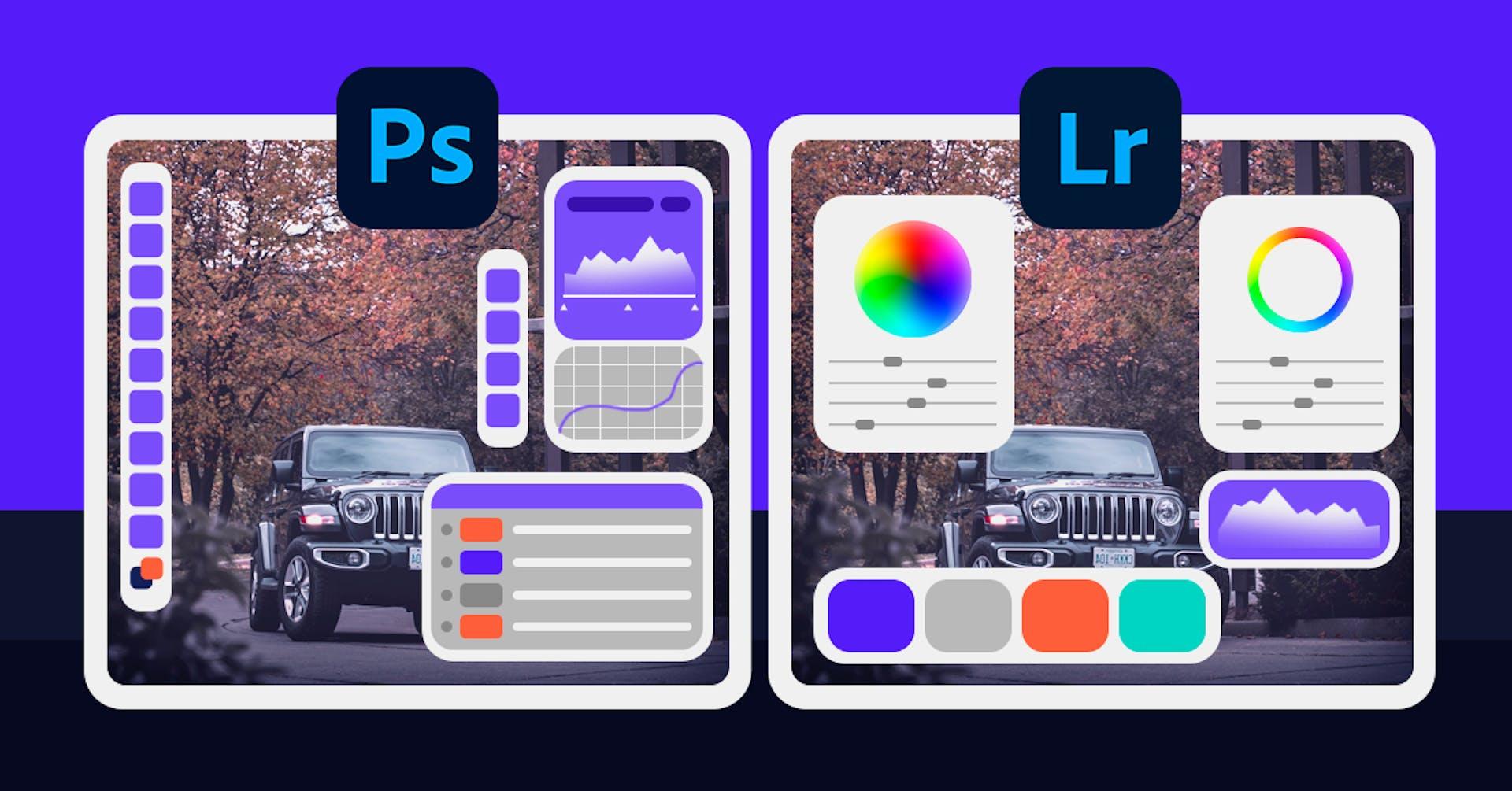 Photoshop vs Lightroom: el mejor programa de edición de fotos
