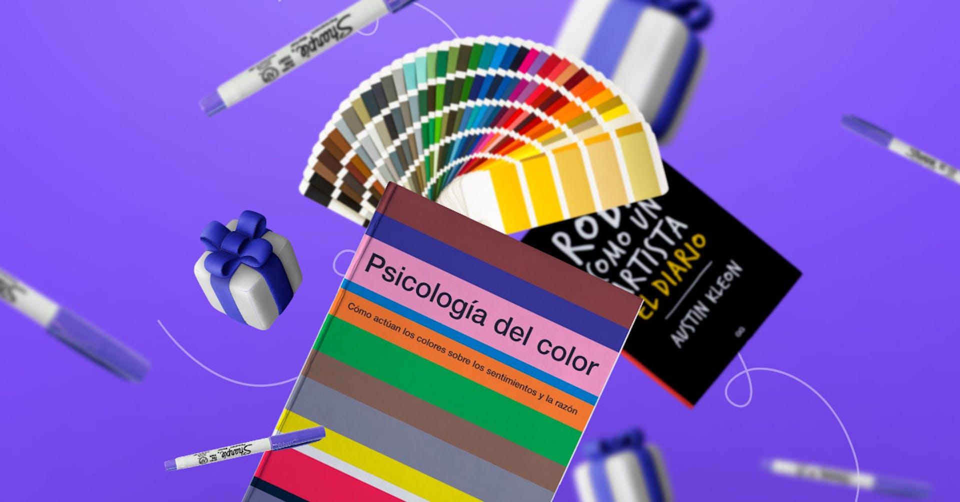 20 ideas de regalos para diseñadores gráficos, arquitectos y pintores
