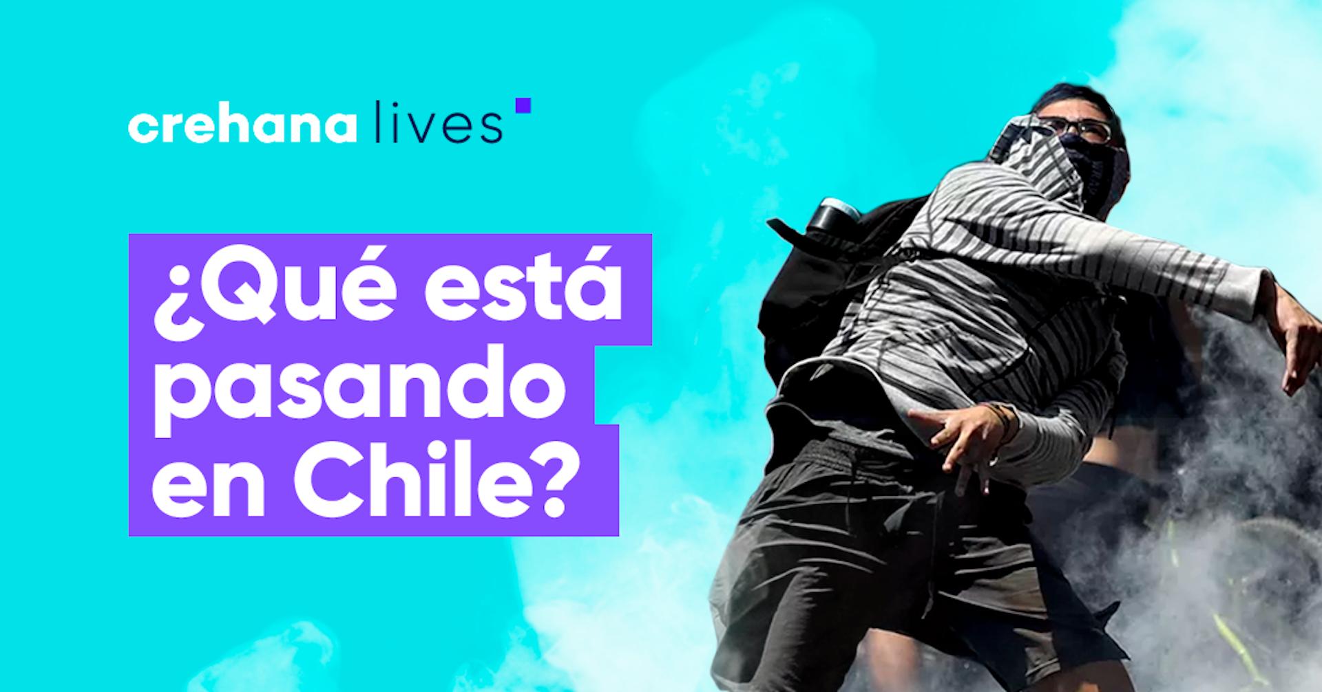 Revive el Crehana Live: ¿Qué está pasando en Chile?