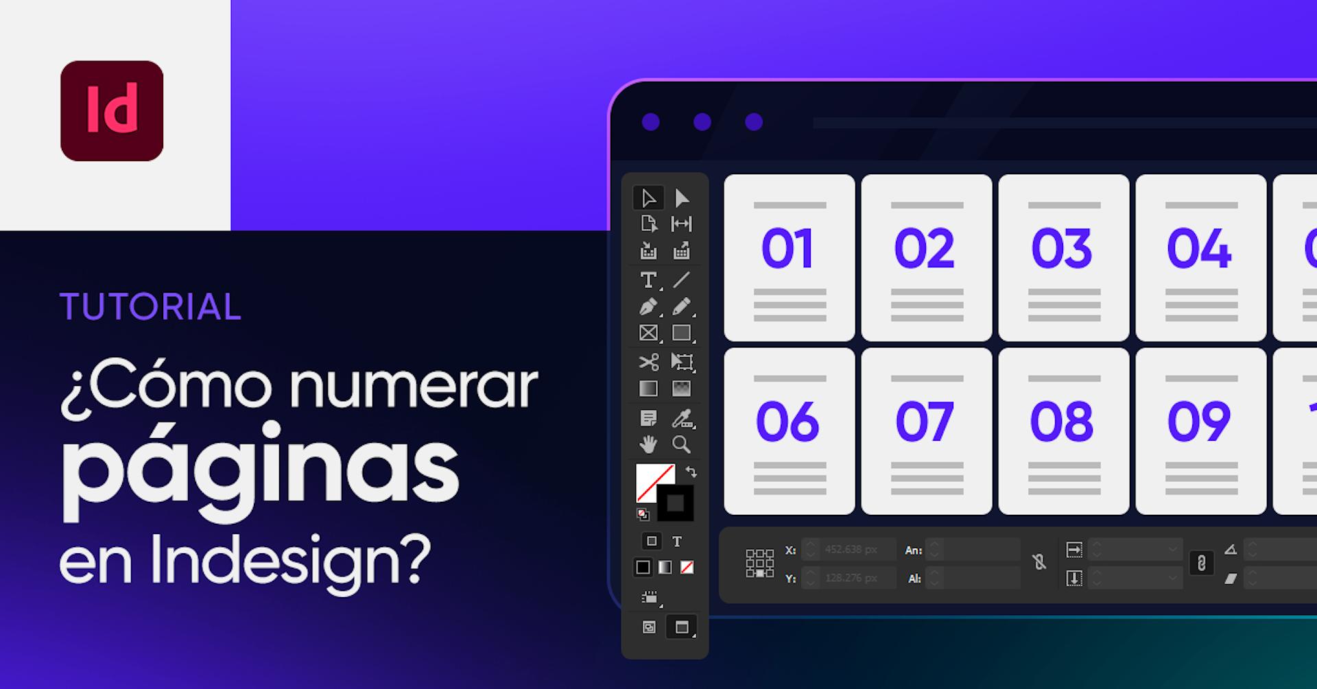 Tutorial: te enseñamos cómo numerar páginas en InDesign