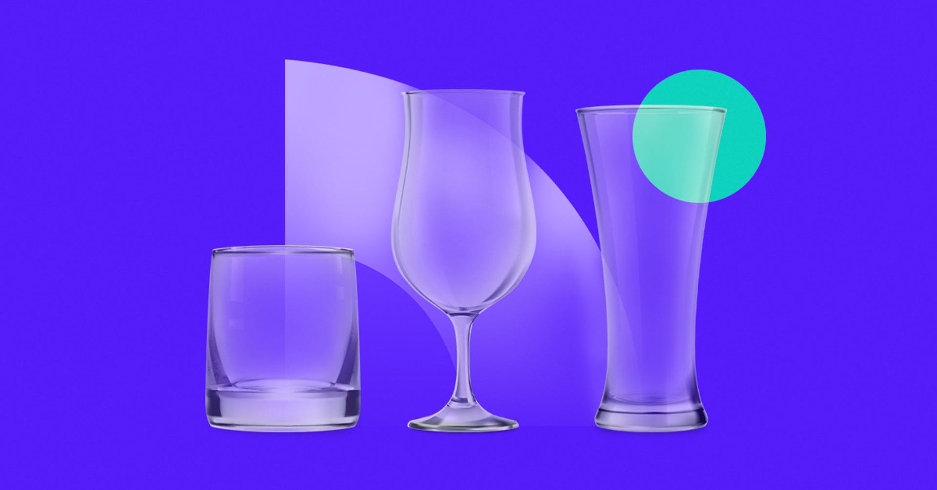 Tipos de cristalería para coctelería que no deben faltarte para lucir los mejores tragos