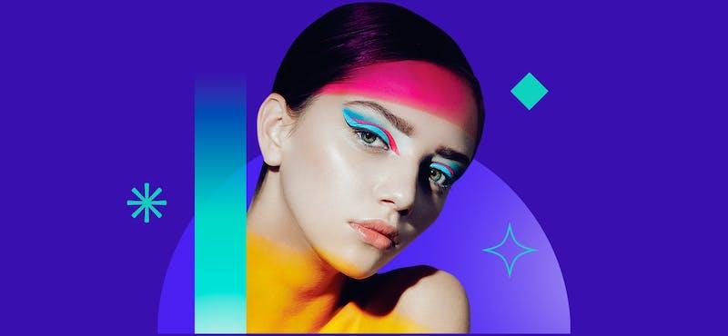 Conoce el uso del maquillaje creativo al estilo de París Fashion Week