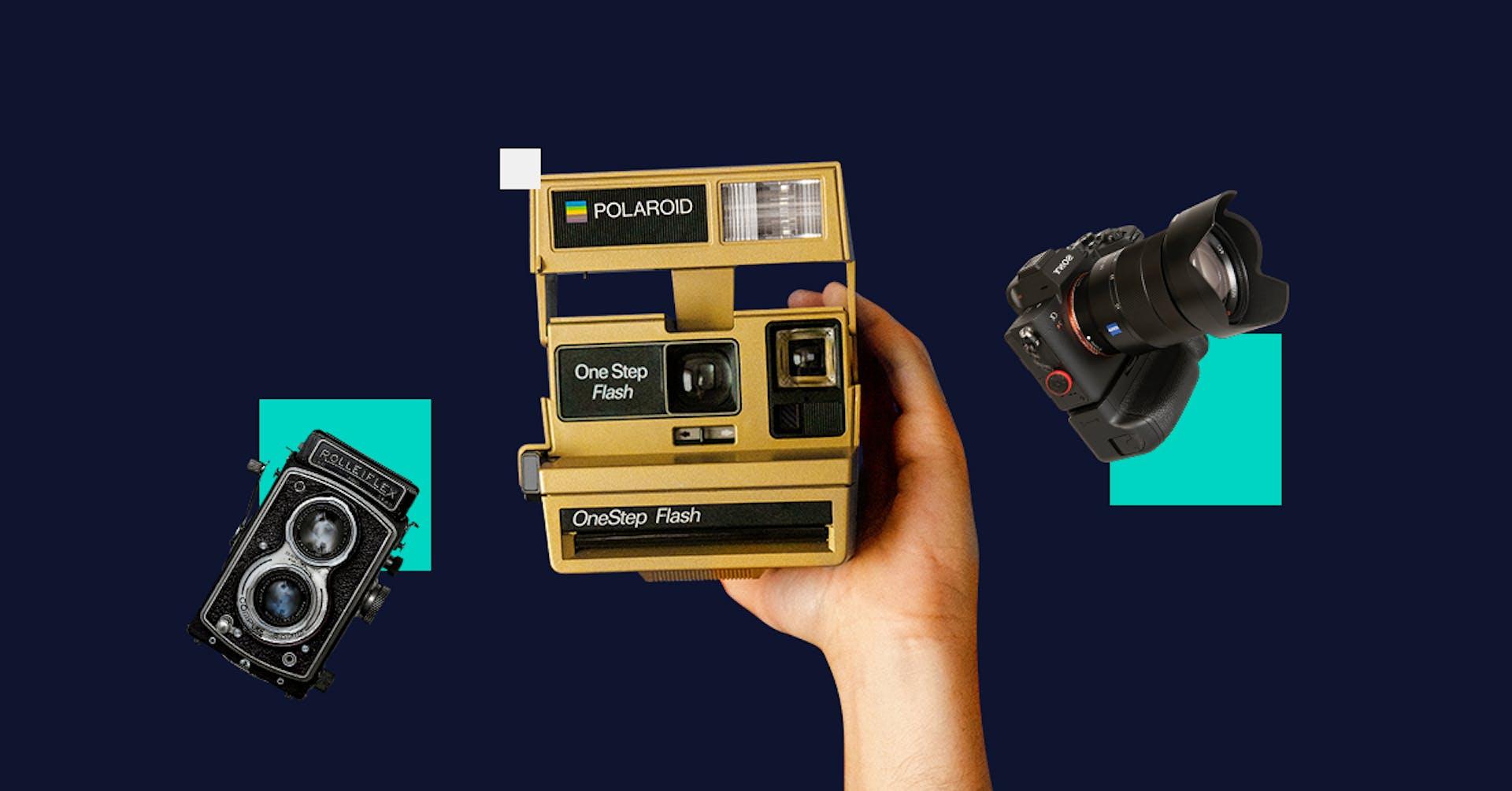 Os tipos de câmeras e sua evolução. Qual você usaria?