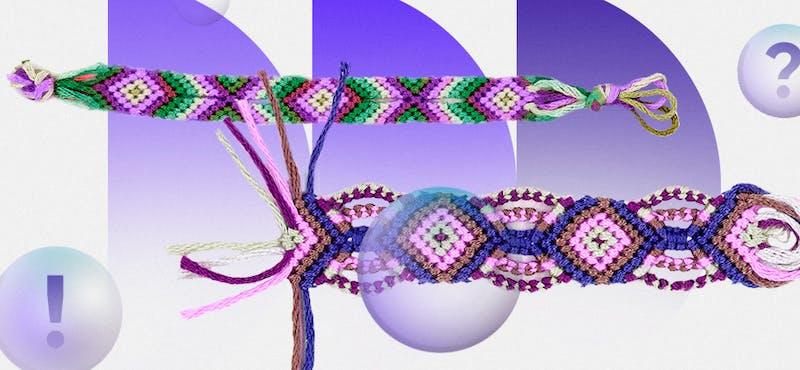 ¿Cómo hacer pulseras de macramé? ¡Luce brazaletes más originales con estas alternativas!