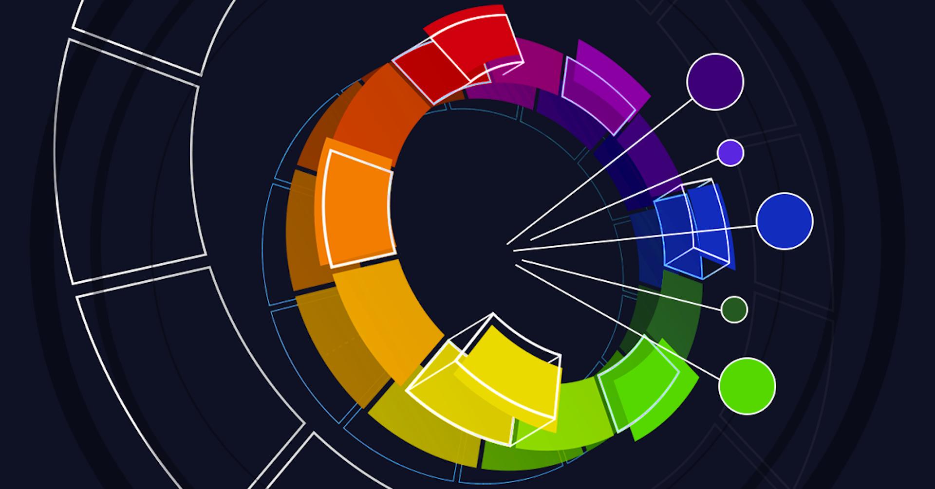 Que es un círculo cromático y cómo ayuda a que tus diseños queden más fantásticos