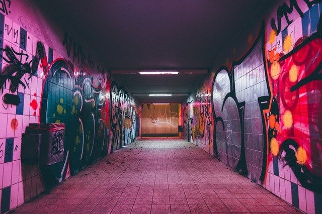 como hacer graffitis cultura hiphop
