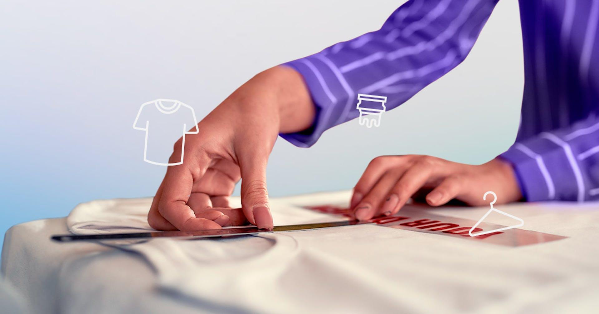 ¿Cómo hacer serigrafía textil?: estampa camisetas en casa