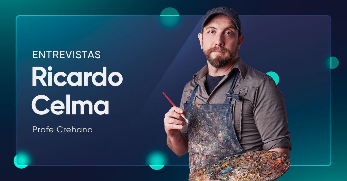 """Ricardo Celma: """"Mi forma de meditación es pintar"""""""