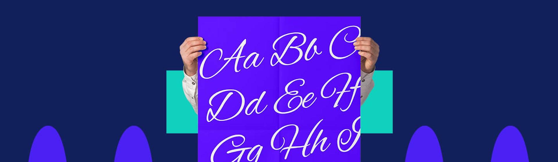 20 letras cursivas y elegantes para enamorar a tus clientes