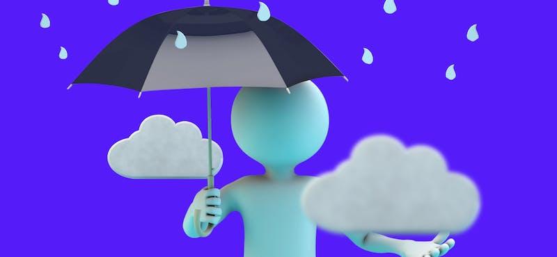 ¿Cómo dibujar una persona bajo la lluvia? ¡Haz que tu entrevista de trabajo sea un éxito!