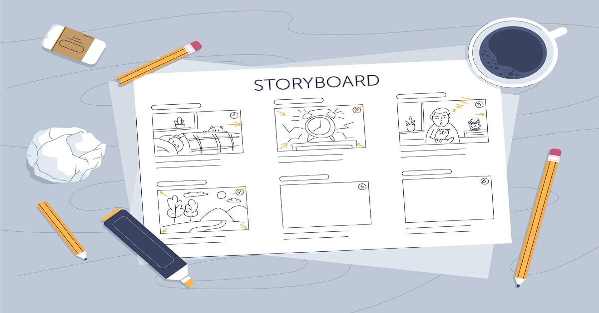 Storyboard: Descubre las virtudes de elaborar guiones gráficos