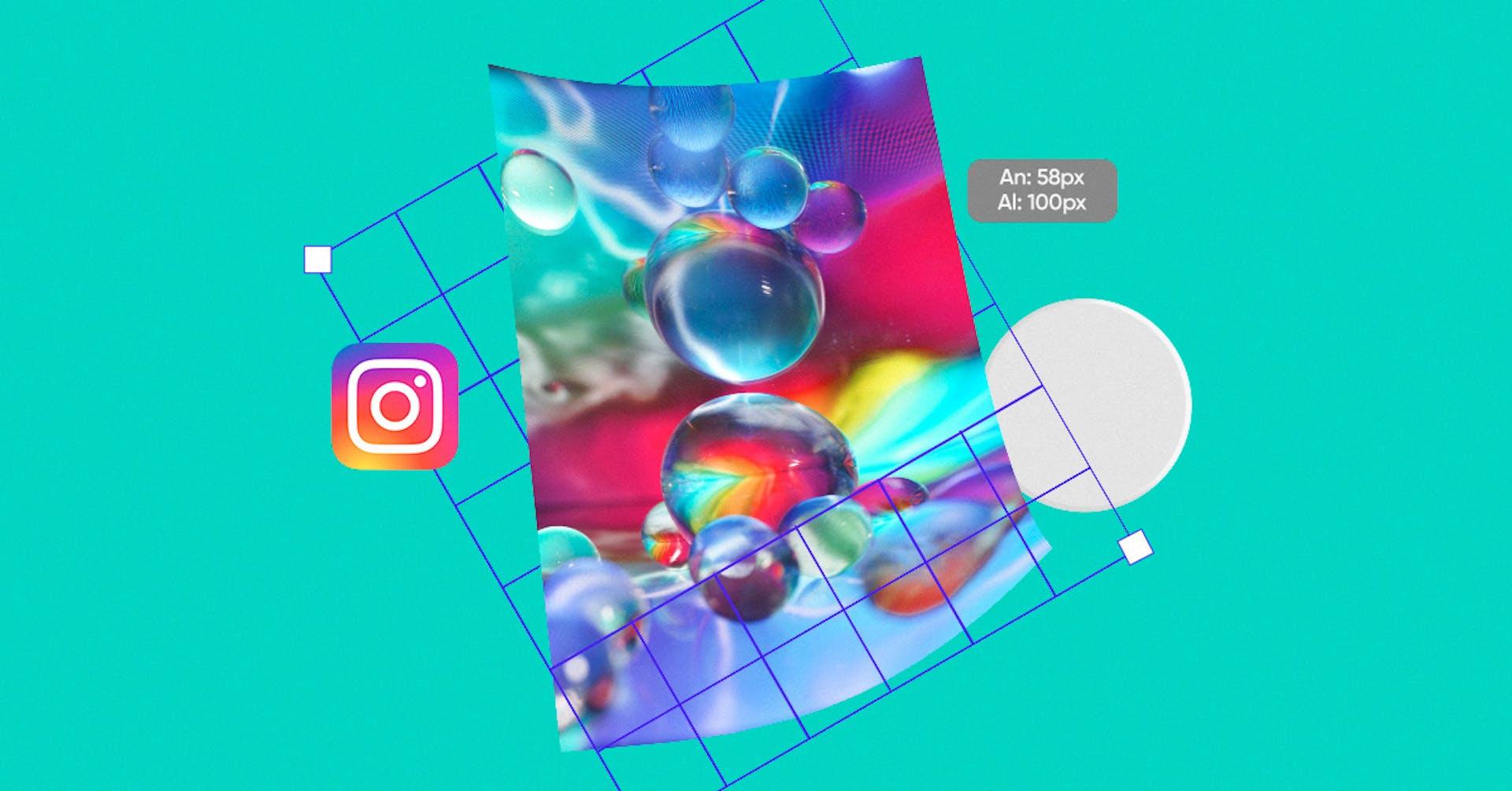 4 tamaños de Instagram que harán verte en alta definición