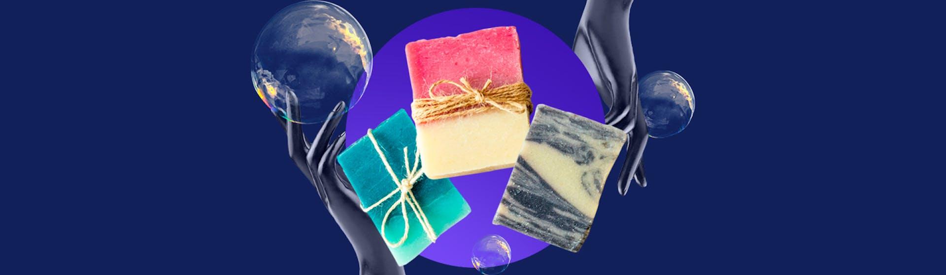 6 tipos de jabones artesanales que le devolverán a tu piel su suavidad